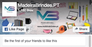 Facebook Madeira Brindes