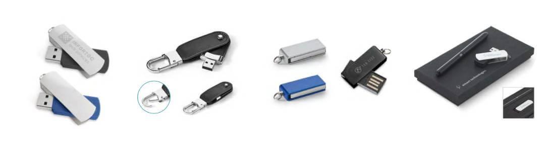 Memorias USB Personalizáveis